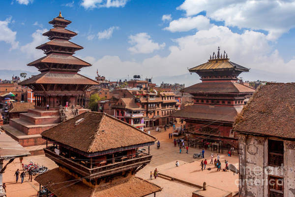 Wall Art - Photograph - Bhaktapur Is Unesco World Heritage Site by Hakat