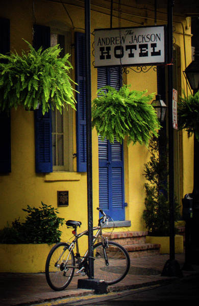 Wall Art - Photograph - Bicycle At Andrew Jackson by Greg and Chrystal Mimbs