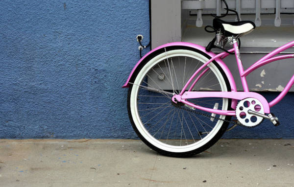 Parking Photograph - Bicycle by Dimos