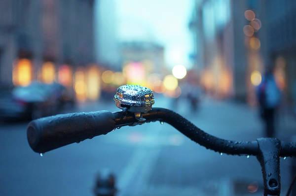 Handle Photograph - Bicycle Handle by Fernando Pérez
