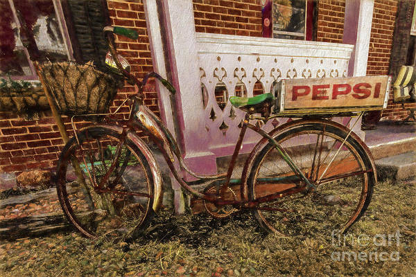 Wall Art - Digital Art - Bicycle In Franklin Wv 1640ctti by Doug Berry