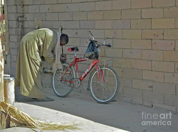 Wall Art - Photograph - Bicycle Man by Andrea Simon