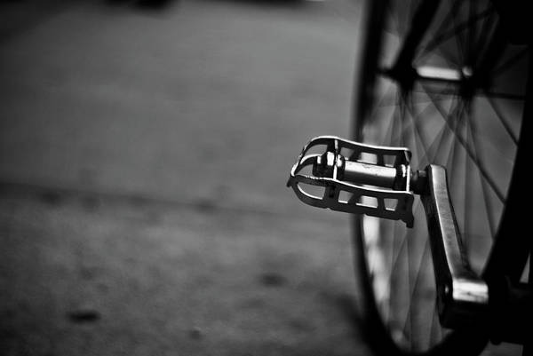 Pedal Wall Art - Photograph - Bicycle Pedals by Photographs By Vitaliy Piltser