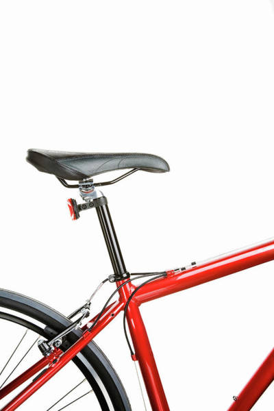 Bicycle Photograph - Bicycle Seat, Frame by Robert George Young