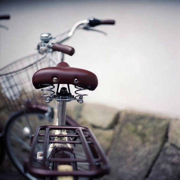 Handle Photograph - Bicycle by Seeing Through My Eyes