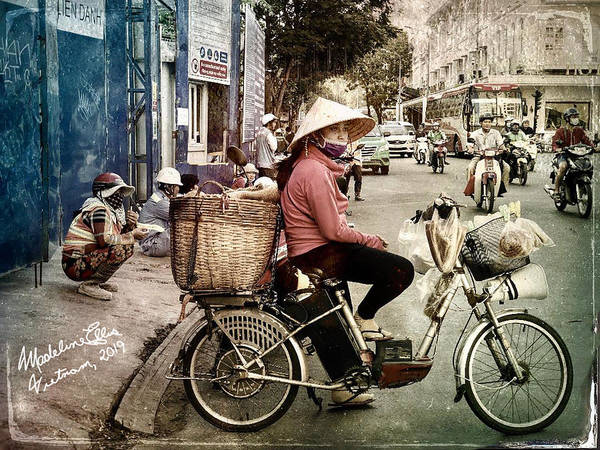 Wall Art - Photograph - Saigon Woman - Ho Chi Minh City, Vietnam by Madeline Ellis