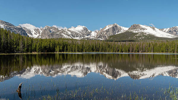 Photograph - Bierstadt Lake In Rocky Mountain National Park by Brenda Jacobs