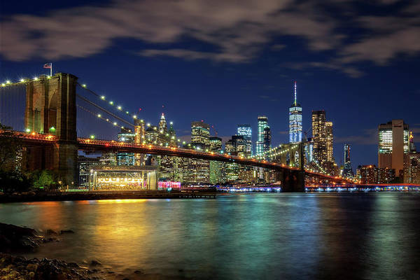 Photograph - Big Apple Wednesday Night  by Harriet Feagin