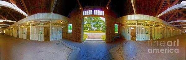 Photograph - Big Barn Kentucky Horse Park 360 by Tom Jelen