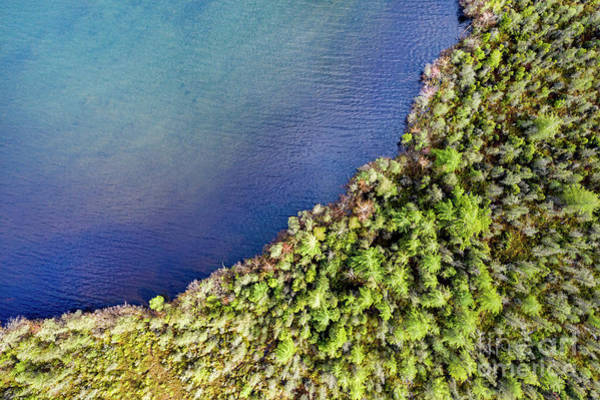 Wall Art - Photograph - Big Bay Bear Lake Aerial by Twenty Two North Photography