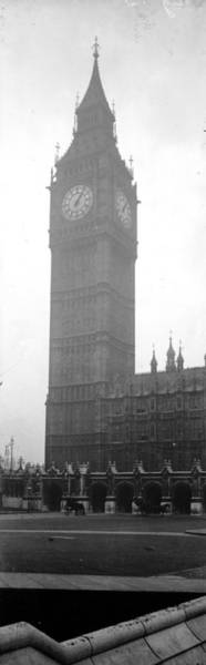 Photograph - Big Ben by Alfred Hind Robinson