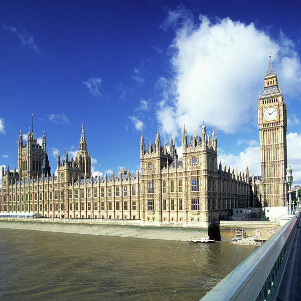 Houses Of Parliament Wall Art - Photograph - Big Ben And Houses Of Parliament by Hisham Ibrahim