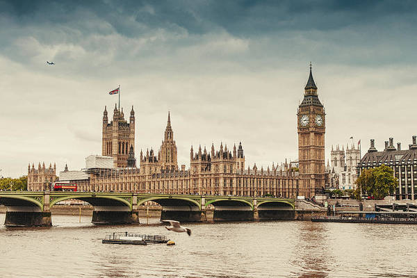 Big Ben And The Parliament In London Art Print by Knape