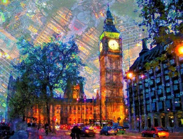 Wall Art - Painting - Big Ben, London by ArtMarketJapan