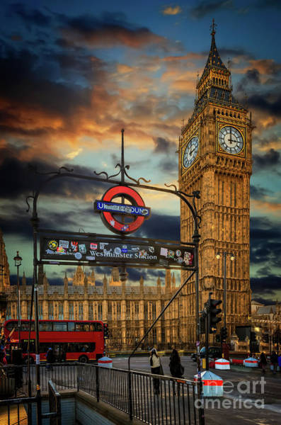 Photograph - Big Ben London City by Adrian Evans