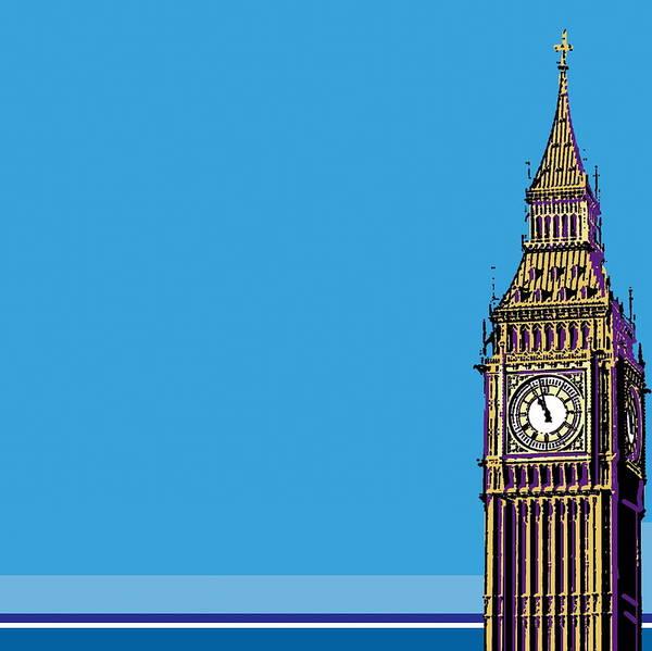 Wall Art - Digital Art - Big Ben, London, England by Emma Hobbs
