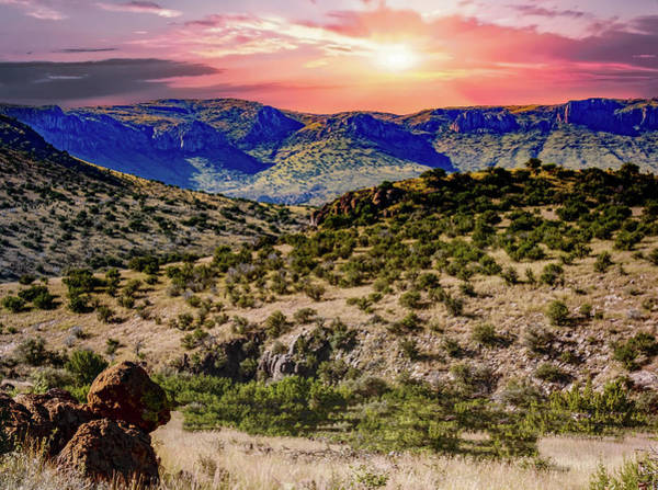 Photograph - Big Bend Back Roads by Gaylon Yancy