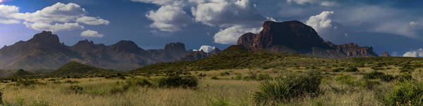 Photograph - Big Bend Mountains by Gaylon Yancy
