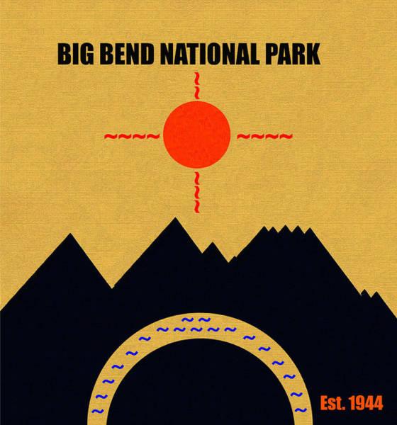 Wall Art - Mixed Media - Big Bend N. P. M Series by David Lee Thompson