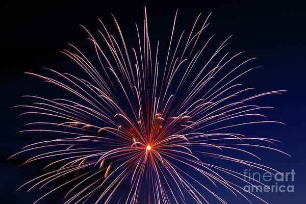 Fireworks Show Wall Art - Photograph - Big Blast by Robert Bales