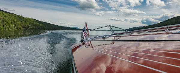 Photograph - Big Boat Big Sky by Steven Lapkin