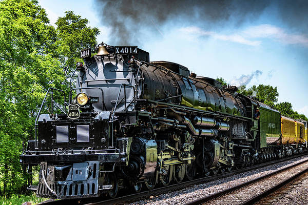 Big Boy Photograph - Big Boy by Randy Scherkenbach