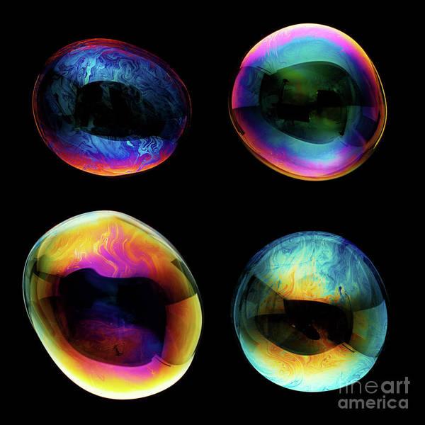 Bubble Photograph - Big Bubbles by Floriana