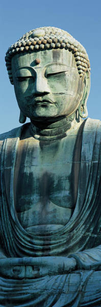 Mediation Photograph - Big Buddha, Daibutsu, Kamakura, Japan by Panoramic Images