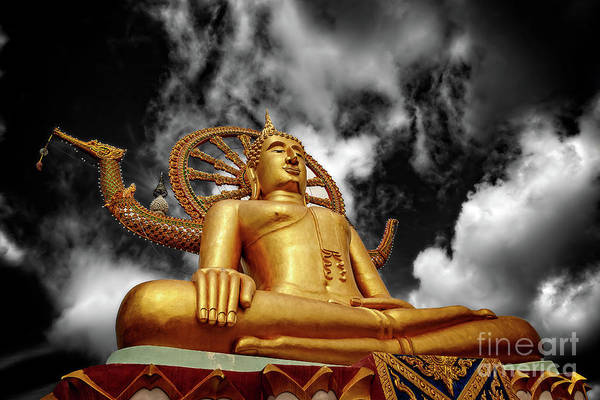 Wall Art - Photograph - Big Buddha Thailand by Adrian Evans