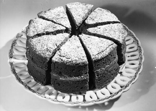 Items Photograph - Big Cake by Chaloner Woods