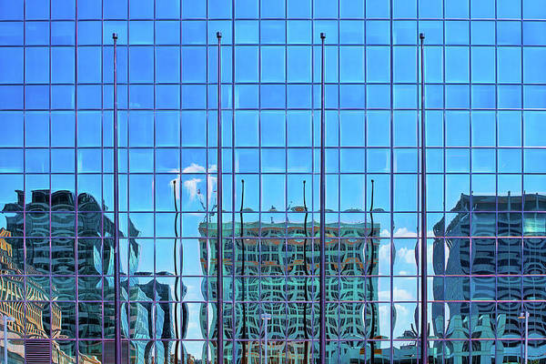 Photograph - Big City Abstract by Robert FERD Frank