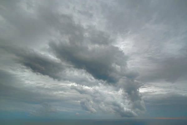 Wall Art - Digital Art - Big Cloud Sky by Lonnie Christopher