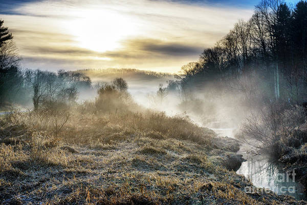 Photograph - Big Ditch Run Misty Sunrise by Thomas R Fletcher