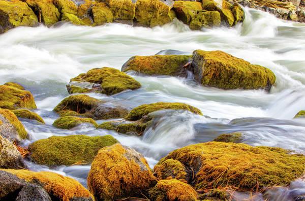 Photograph - Big Eddy Deschutes River Oregon Art Print by David Millenheft