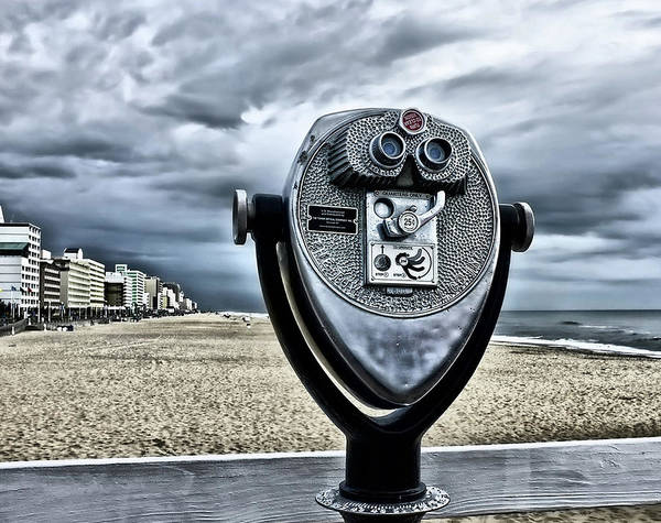 Surveillance Wall Art - Photograph - Big Eyes At Virginia Beach by L. Toshio Kishiyama