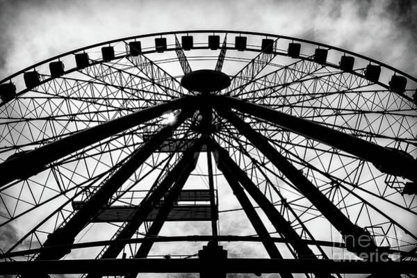 Wall Art - Photograph - Big Ferris Wheel, Budapest, Hungary by Makai Sándor
