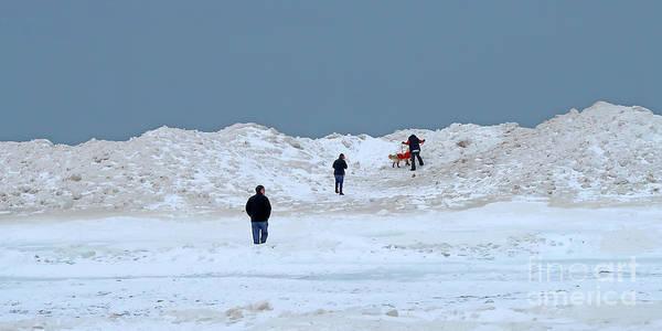 Photograph - Big Freeze Aftermath by Ann Horn