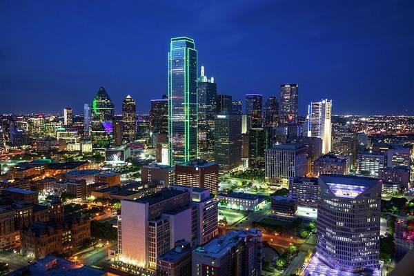 Photograph - Dallas Skyline by Harriet Feagin