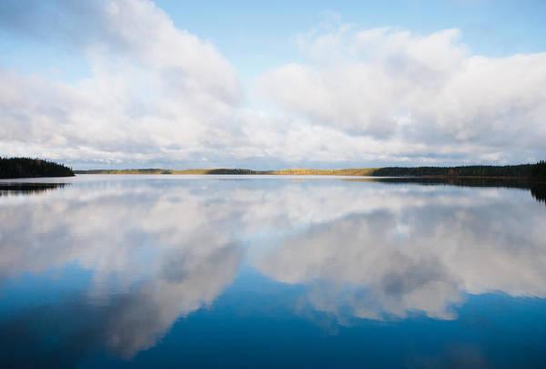 Photograph - Big Lake, Big Sky by Carl Young