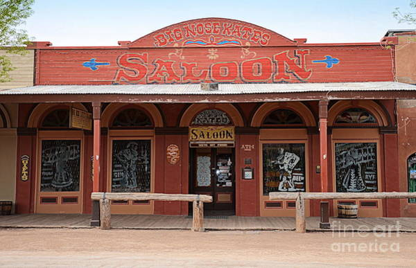 Wall Art - Photograph - Big Nose Kate's Saloon by Tru Waters