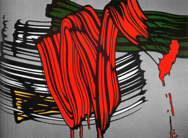 Photograph - Big Painting 6 by Doc Braham - In Tribute to Roy Lichtenstein