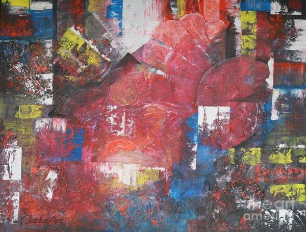 Painting - Big Red by Jean Clarke