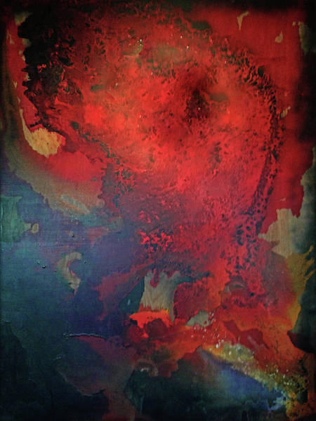 Wall Art - Painting - Big Red by Paul Kole