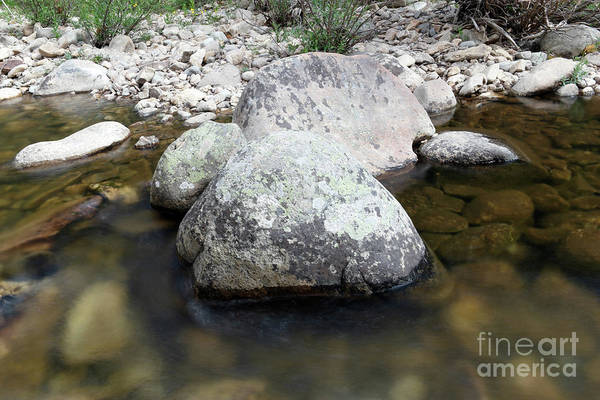 Wall Art - Photograph - Big Rocks In The Calm Water by Jeff Swan