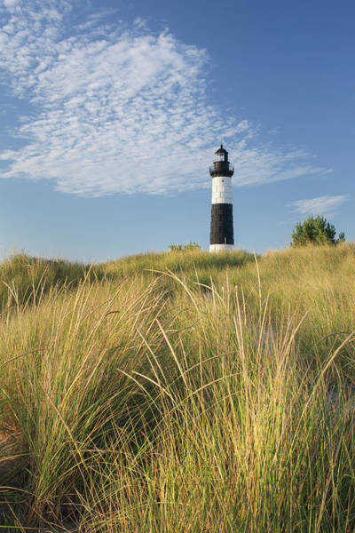 Wall Art - Photograph - Big Sable Point Lighthouse I by Alan Majchrowicz
