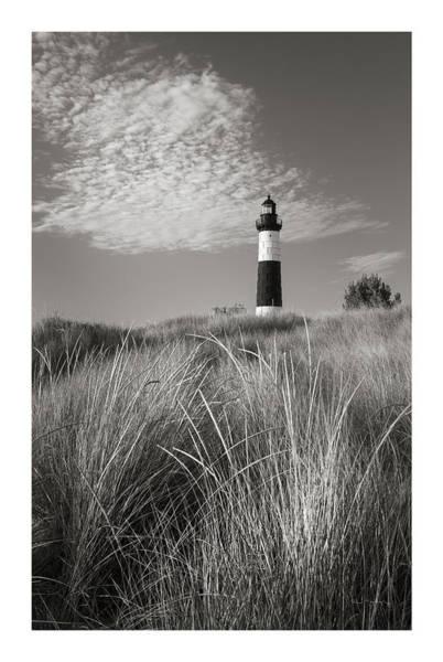 Wall Art - Photograph - Big Sable Point Lighthouse I Bw by Alan Majchrowicz