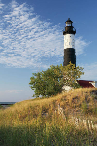 Wall Art - Photograph - Big Sable Point Lighthouse II by Alan Majchrowicz