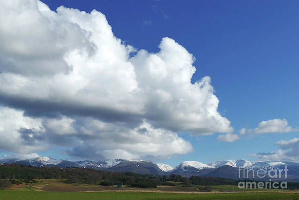 Photograph - Big Sky - Cairngorm Mountains by Phil Banks