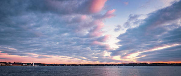 Photograph - Big Sky Over Portsmouth Light. by Jeff Sinon