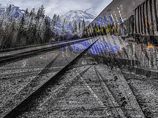 Big Steel Rail Art Print